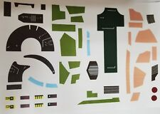 Vintage Star Wars Slave 1 Replacement Sticker - Peel & Stick - No Need To Cut