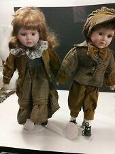 Porcelain doll Collectables Boy And Girl Dolls by anco 15 inches