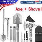 Military Survival Axe Shovel Hatchet Tools Set Multipurpose Outdoor Hunting Gear