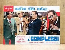 I COMPLESSI fotobusta poster Sordi Nanni Loy Valli Tognazzi Manfredi BO25