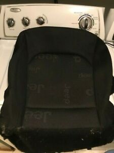 Jeep Renegade drivers side seat cover OEM, Black, 2017 Latitude