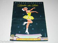 Programmheft, Wiener Eisrevue, Zauber der Liebe, 1959