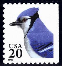 Scott #2483 20-Cent Blue Jay Water-Activated Booklet Single - MNH