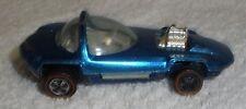 Hot Wheels Redline Silhouette in blue