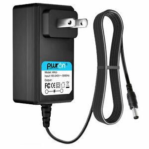 PwrON 5V AC DC Adapter for Sylvania SP328 B Black Red Silver Portable Speaker