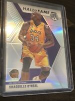 Shaquille O'Neal 2019-20 Mosaic Silver Prizm Hall Of Fame Lakers