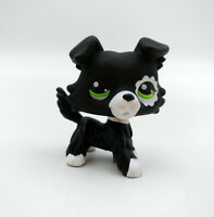 Collie Dog LPS #1542 Littlest Pet Shop Custom OOAK Black New #2249