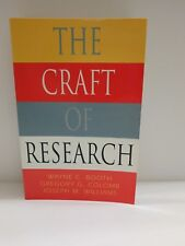 Chicago Guide: The Craft of Research by Wayne Booth, Greg Colomb, Joe Williams