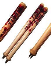 Baseball Wood Bat Pens -Zombie - Negan Lucille (QTY. 2) - Walking Dead