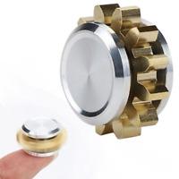 MINI Copper Alloy Gear Spinner EDC Focus Fidget Hand Spinner Finger Toys Gift H7