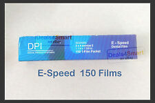 DPI Dental E-speed Periapical X-Ray film #2 150pc  Kodak Carestream equivalent