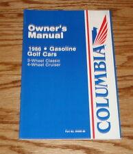 Original 1986 Columbia ParCar Golf Car Owners Operators Manual 86