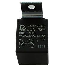 Relai SPDT 12V 30A 40A 5 pin broches électromagnétique pour auto voiture