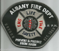 "Albany, OR  (5"" x 4"" size)  fire patch"
