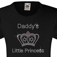 """Rhinestone Embellished /""""Horse/"""" 3 to 15 Yrs 12 Colour options Girl/'s T-Shirt"""