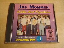 ACCORDEON CD / JOS MOMMEN - VOLKS BAL POPULAIRE NR. 1