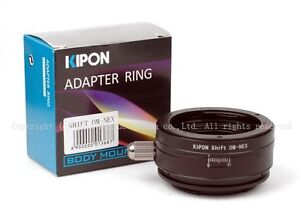 Kipon Shift Adapter for Olympus OM to Sony NEX-7/6/5R a7 a7r A7s A5000 A6000