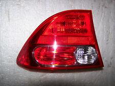 06-08 Honda Civic Sedan Left Tail light LT OEM 4 Door Tail lamp LH 07 08