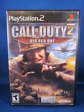 Sony Playstation PS2 Call Of Duty 2 Big Red One Complete