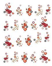 One Stroke Sticker,LOVE, Kiss me ,Tattoo, Aufkleber  Nr.1239