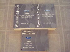 2009 FORD F-250-350-450-550 & DIESEL TRUCK SERVICE WORK SHOP REPAIR MANUAL BOOKS
