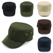 Summer Unisex Army Military Patrol Cap Cadet Hat Baseball Driving Adjustable New