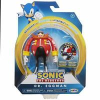 Sonic the Hedgehog ~ DR. EGGMAN (WAVE 2) ACTION FIGURE w/BENDABLE ARMS & LEGS