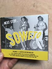 Next Stop...Soweto:Volume 1-3:Limited Edition Boxset(4xCD)Township R&B Soul Funk