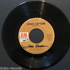 Joe Cocker Space Captain JSA Signed Autograph 45 Record Vinyl
