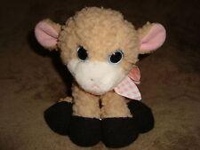 "1995 Tyco Baby Baby Farm Babies Lamb squeaks 7"" long Plush"