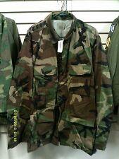 NOS Large Long Woodland BDU Temperate Combat Coat /Shirt Unicor