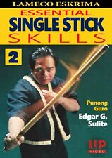 Lameco Eskrima Essential Single Stick Skills #2 Martial Arts Dvd Edgar Sulite