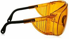 Uvex UV Safety Glasses S0360X Ultra-spec 2000 Safety Eyewearm,SCT-Orange Antifog