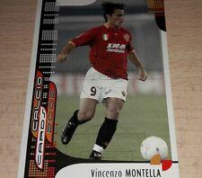 CARD CALCIATORI PANINI 2002 ROMA MONTELLA CALCIO FOOTBALL SOCCER ALBUM