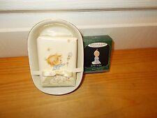 Hallmark Keepsake Ornaments:Betsey'S Prayer + Soap and Soap Dish Betsey Clark