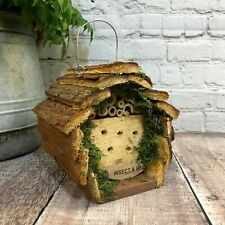 More details for wooden garden wildlife insect and bee hotel