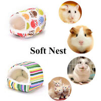 Rabbit Cage Hamster Sleeping Bed Small Animal House Guinea Pig Mat Warm Pad