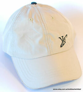 NEW Baseball Hats/Caps - Cool design! Beige / Black 58cm