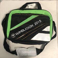 Babolat Wimbledon 2015 Messenger Laptop Bag Green Black Tennis Championship