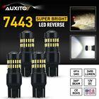 AUXITO 4X 7443 7440 LED Back Up DRL Reverse Brake Light Bulbs Kit Super White