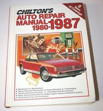 Chiltons Auto Repair Manual 1980-1987 #7670 Covers over 6000 model combinations