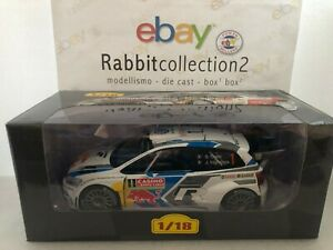 "Die Cast "" Volkswagen Polo R Wrc- 2014 - S.Ogier "" Rallye 1/18 Altaya"