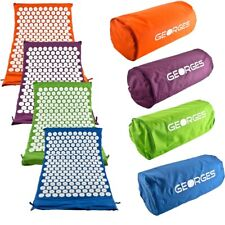 Tapis acupression, Tapis Fakir, Tapis massage   avec sac, plusieur couleur