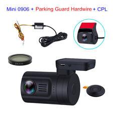 Mini 0906 HD 1080P Dual Lens Car Dash Camera GPS+ CPL+Fuse Parking Hardwire Set