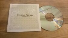 CD Indie Denison Witmer - Looking For You (1 Song) Promo BAD TASTE cb