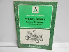 ALLIS-CHALMERS MODEL 608LT OPERATORS MANUAL 1976