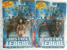 Justice League Unlimited HawkGirl + Wonder Woman action Figure W/Trading Card