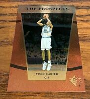 1998 Upper Deck SP Top Prospects Rookie #42 Vince Carter  - Raptors