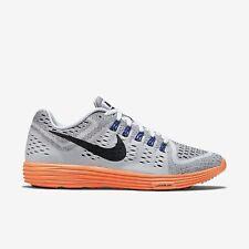 7f554d965cf3 Nike Men s Lunar Tempo Running Shoes Size 10 NEW 705461 100 White Total  Orange