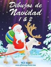Navidad: Dibujos de Navidad 1 And 2 by Nick Snels (2014, Paperback, Large Type)